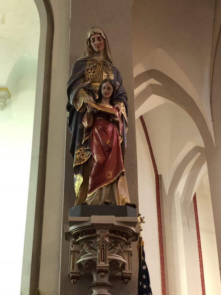 Saint Ann with Mary