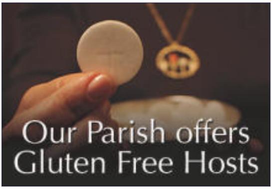 Low Gluten Hosts